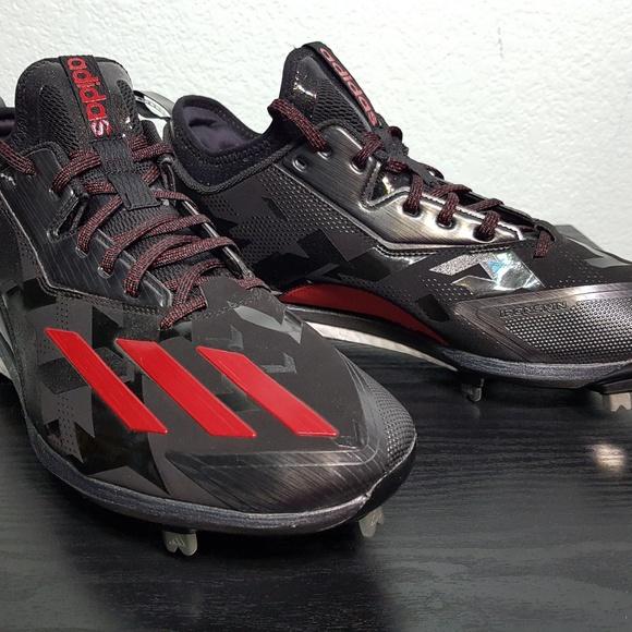 le adidas blk rossi 135 scarpe da baseball sz 135 poshmark